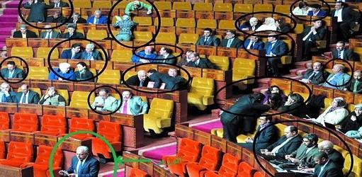 البرلمان في غياب كاميرا التلفزيون ! لا أحد يهتم …..