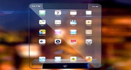 """""""آيباد"""" الجديد في المستقبل .. شفاف ونافذ للضوء"""