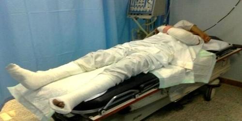 مبلغ 600 مليون سنتيم تعويض لمريض سقط من سرير العمليات!