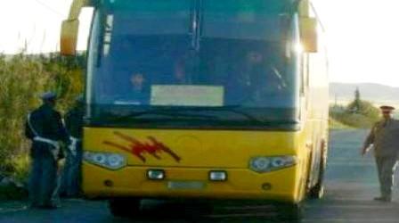 اعتقال عصابة هاجمت حافلة تربط بين مولاي يعقوب وسطات بالسيوف