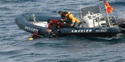 إنقاذ سبعة مهاجرين سريين بعد غرق قاربهم بمضيق جبل طارق