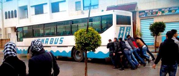 هذا هو حال الحافلات !