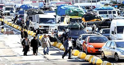 إنخفاض كبير في عائدات المهاجرين المغاربة الى 130 مليار سنتيم