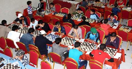 انطلاق فعاليات الدورة 8 للمهرجان الوطني لشطرنج الطفل بمدينة سيدي سليمان