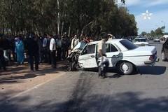 قتيل وسبعة جرحى في حادثة سير قرب مدينة القنيطرة