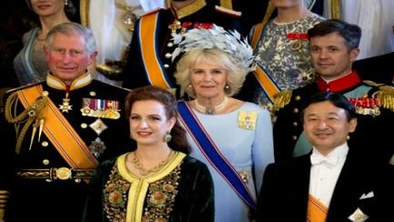 الأميرة سلمى الأكثر أناقة في حفل تنصيب ملك هولندا