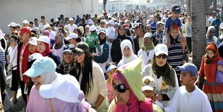 أزيد من 5000 مواطنة ومواطن يتظاهرون بالدار البيضاء تضامنا مع 'الطفلة وئام'