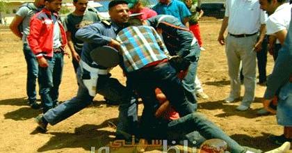 شابان يحاولان إحراق نفسيهما بقرية أركمان بالناظور احتجاجا على قائد كبدانة وخليفته
