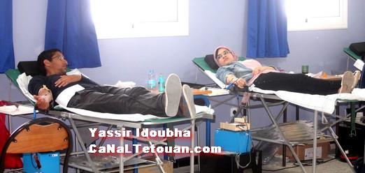 تنظيم يوم تحسيسي للتبرع بالدم في المدرسة الوطنية للعلوم التطبيقة (Ensa) بتطوان