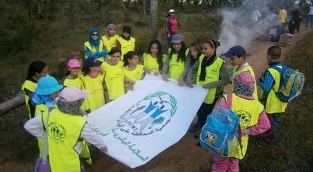 جمعية المحافظة على البيئة لولاية تطوان تنظم حملة نظافة للمنطقة الغابوية المجاورة لسد الاجراس