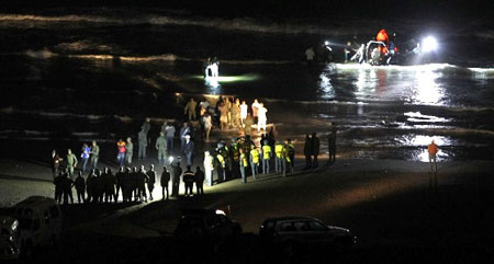 الحرس الإسباني بمليلية المحتلة يطلق النار على مهاجرين أفارقة