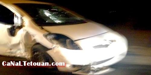 حادثة سير خطيرة على طريق الملاليين بتطوان