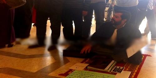 محام بهيأة تطوان يعتصم بمحكمة الاستئناف احتجاجا على توقيفه