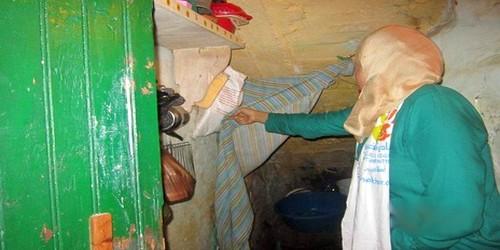"""أسرة من ثمانية أفراد تقطن في """"مرحاض"""" بأيت ملول"""