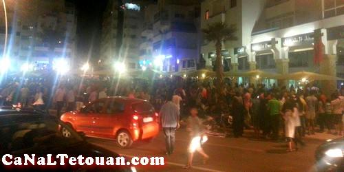 حالة من الذعر والهلع تصيب المواطنين بعد أنباء هجوم مسلح بكورنيش مرتيل