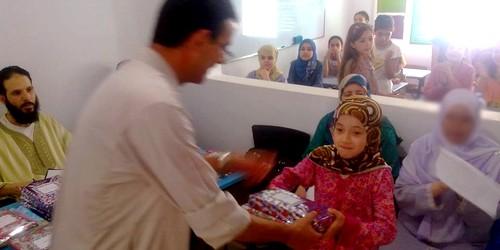 جسور تطاون تكرم تلاميذتها المتفوقين في حفظ القرآن بجوائز قيمة !