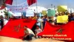 مسيرة سلمية حاشدة بالفنيدق إحتجاجا على الوضع الكارثي التي تعيشه الساكنة