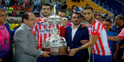 """فريق المغرب التطواني يتوج وصيفا لحامل لقب دوري """"كارنثا """"بقاديس"""