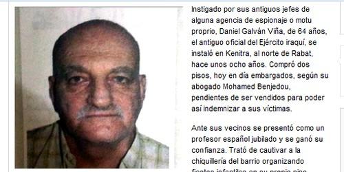 كاتب إسباني يؤكد أن دانيال مغتصب الأطفال كان يشتغل جاسوسا لاسبانيا