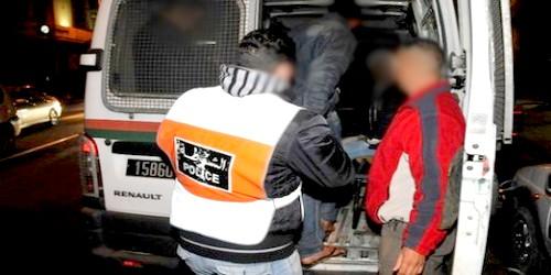 أمن مرتيل يوقف مجرما خطيرا روع المواطنين