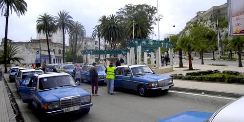 نقابةُ سيارات الأُجرة بتطوان تُعلن عن مشاركتها في وقفة الرّباط
