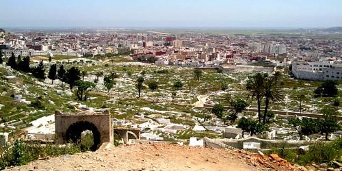 توفير الامن للمقبرة الاسلامية لتطوان من طرف الجماعة الحضرية