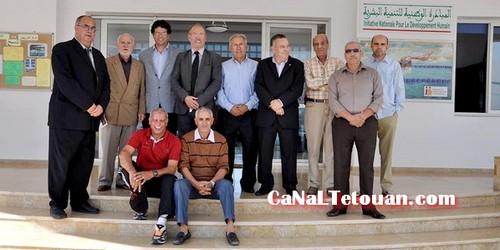 وفد هام من نادي ريال مدريد يزور جمعية حنان بتطوان (صور)