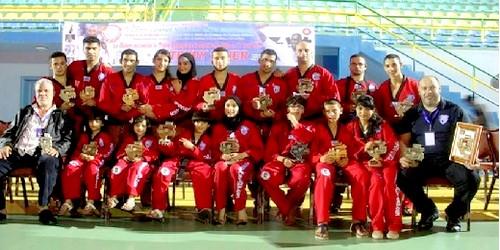 المغرب يُشارك في بطولة فنون الحرب بروسيا