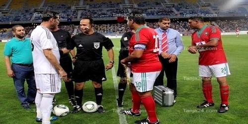 المنتخب المغربي 98 يسقطون بملعب طنجة أمام قدماء ريال مدريد (0-1)