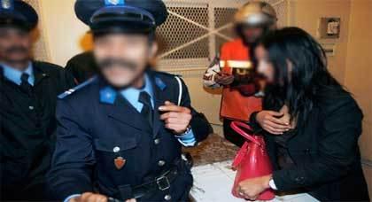إعتقال 12 مومسا في حملات أمنية ضد فنادق الدعارة بوجدة