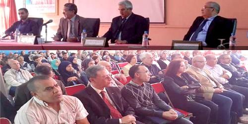 مرتيل : عميد المعهد الملكي للثقافة الأمازيغية يفتتح الدرس الجامعي بالمدرسة العليا للأساتذة
