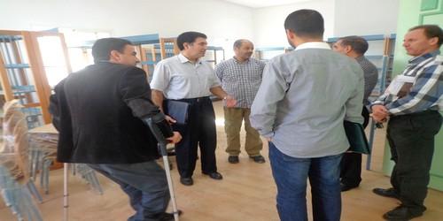 افتتاح مكتبة المهدي المنجرة بحي اللوزيين