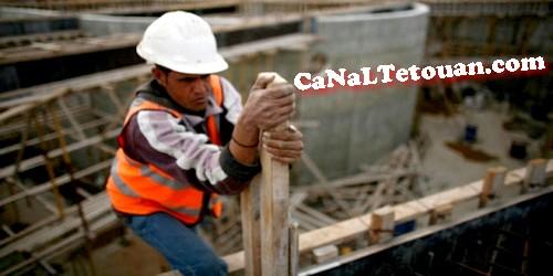 بسبب الأزمة ..عمال من اسبانيا يشتغلون بأوراش للبناء بطنجة