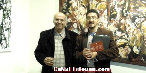 افتتاح معرض الفنان محمد البراق ضمن فعاليات الدورة 16 لعيد الكتاب بتطوان