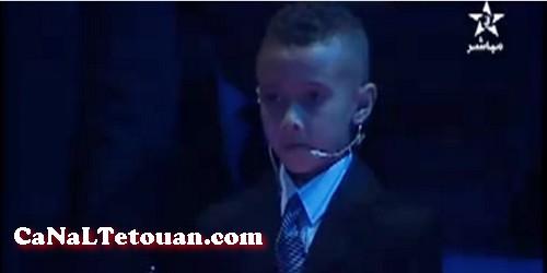 الطفل المرتيلي سمير صديني أصغر حكم مغربي لرياضة الكراطي