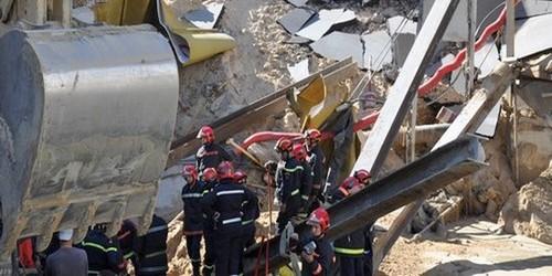 انهيار رافعة يودي بحياة ثلاثة عمال بناء بمنطقة الرهراه بطنجة