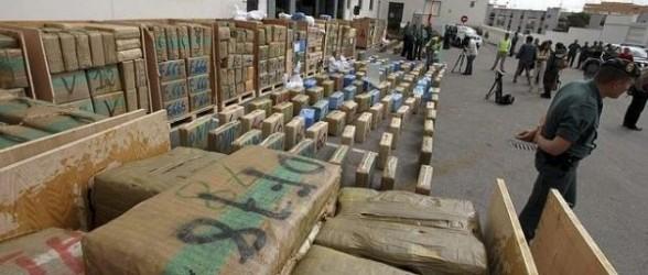 الحرس المدني الإسباني يحجز أزيد من 500 كلغ من الحشيش بخليج جزيرة طريفة