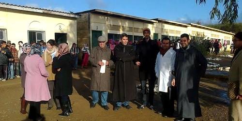 المكاتب النقابية التعليمية المحلية بجماعة سيدي رضوان تسجل مواقفها بشأن وضعية المعتصمين بالرباط