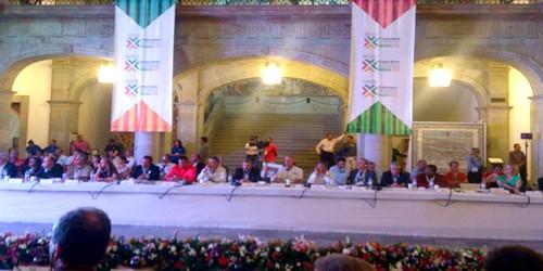 بالصور..تطوان تشارك في أشغال المؤتمر الثاني عشر لمنظمة مدن التراث العالمي بواخاكا بالمكسيك