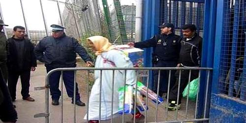 بلاغ بخصوص انتهاكات حقوق الانسان لسلطات اسبانيا بمعبر باب سبتة