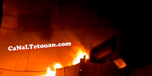 اندلاع النيران بأحد المنازل بالمدينة العتيقة بتطوان