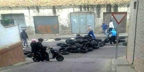 مواجهات عنيفة بين الشرطة الإسبانية والمغاربة القاطنين بمليلية المحتلة