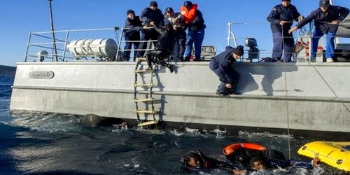 إنقاذ 29 مهاجر بمياه المضيق وتوقيف 107 بسواحل طنجة