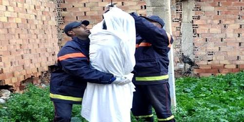 انتحار رجل متزوج شنقا في حي الديزة بمرتيل