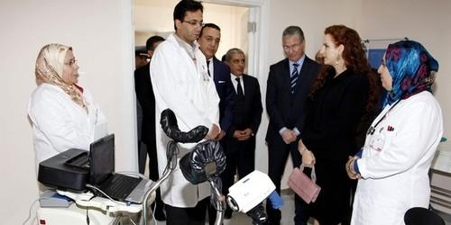 الأميرة لالة سلمى تدشن بطنجة مركزا للكشف المبكر عن سرطان الثدي