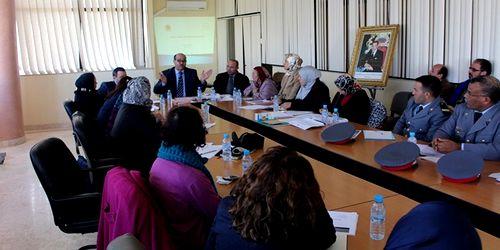 اجتماع اللجنة الجهوية للتكفل القضائي بالنساء والأطفال ضحايا بمحكمة الإستئناف بتطوان العنف