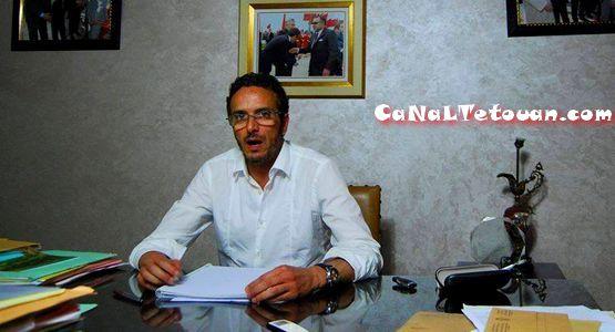"""علي امنيول رئيس جماعة مرتيل : """" قرار بناء الملعب قرار لا رجعة فيه """" !"""