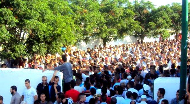 """مئات التلاميذ شيعوا جنازة زميلتهم """"هالة اسريحن"""" بتطوان"""
