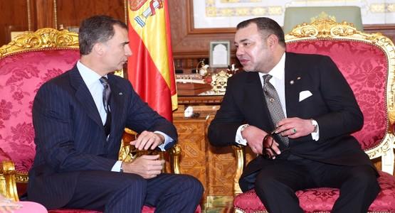 قناة اسبانية: زيارة الملك فيليبي السادس للمغرب إحدى أقوى لحظات سنة 2014 بإسبانيا