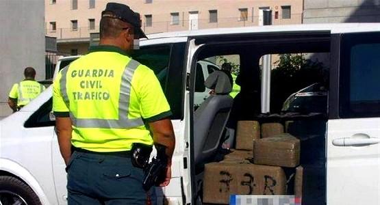 اعتقال إسباني حاول تهريب المخدرات بمعبر سبتة